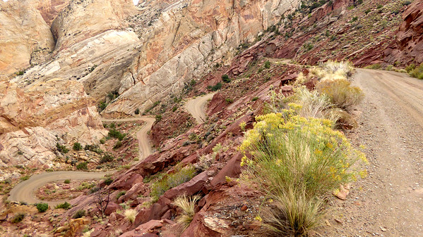 Burr Trail Switchbacks, Capitol Reef National Park