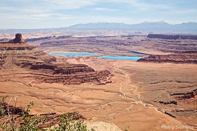 Potash ponds