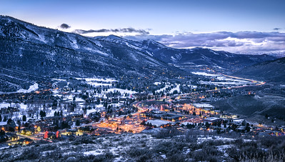 Park City Blue Hour