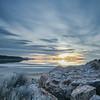 Bridger Bay sunset vertical