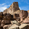 Petroglyphs, Cliffs and Butte, Nine Mile Canyon, Utah