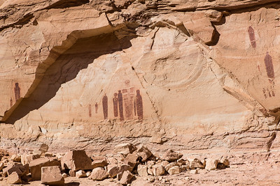 The Great Gallery, Barrier Canyon, Canyonlands National Park, Utah