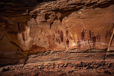 Great Gallery (main panel)–Horseshoe Canyon, Canyonlands NP