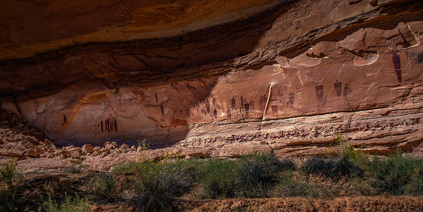 The Great Gallery–Horseshoe Canyon, Canyonlands NP