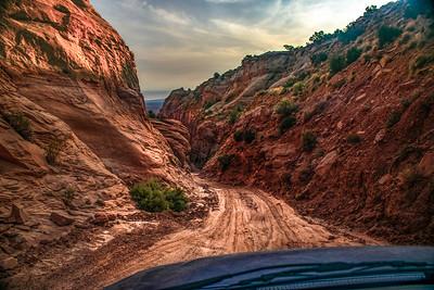 """Entering """"Pucker Pass,"""" Long Canyon, Utah"""