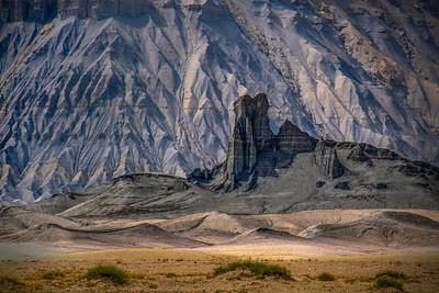 """Sauron's Tower""– Factory Butte, Utah"
