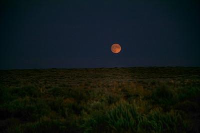 Full Moonrise over the San Rafael Desert, Utah