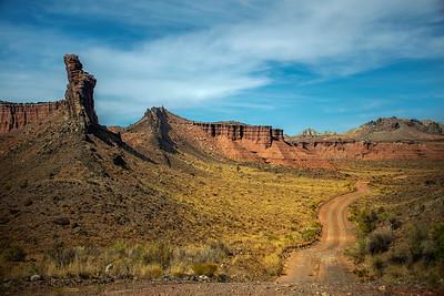 North Cathedral Valley Road, Capitol Reef NP, Utah