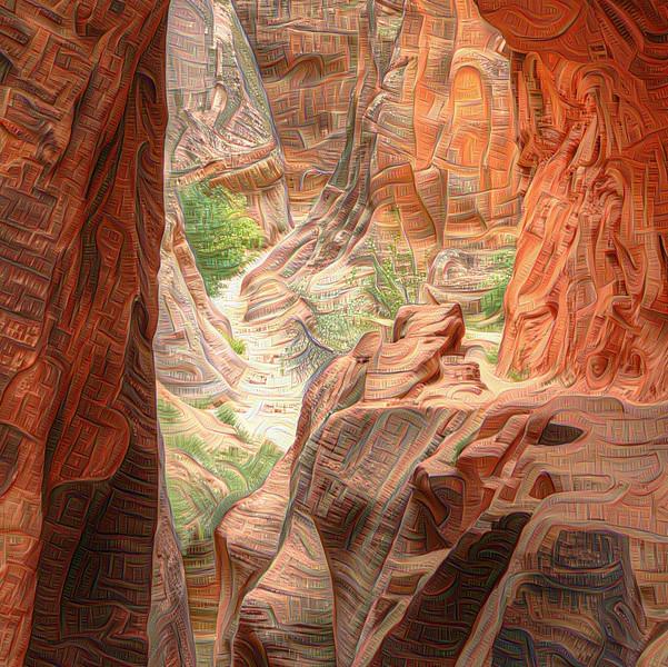 Echo Canyon - Detail #1