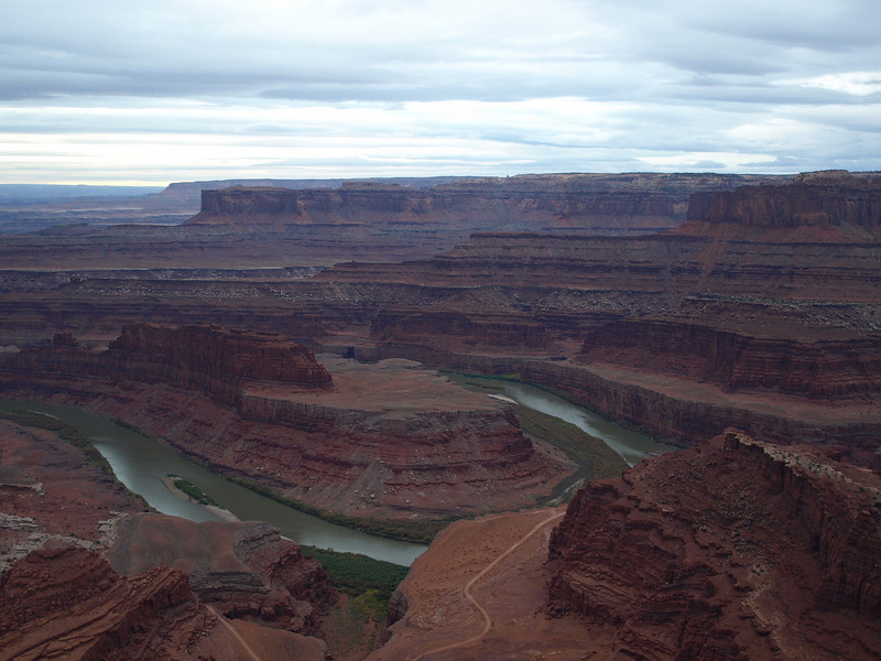 View from the end of the road - Dead Horse Point.