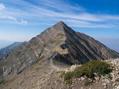 Mount Nebo via the North Trail  8.31.14