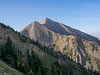 Nebo Peak - it is a steep climb to the ridge and then  the hike across the ridge is rather loose.