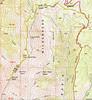 Nebo Peak Trail Map