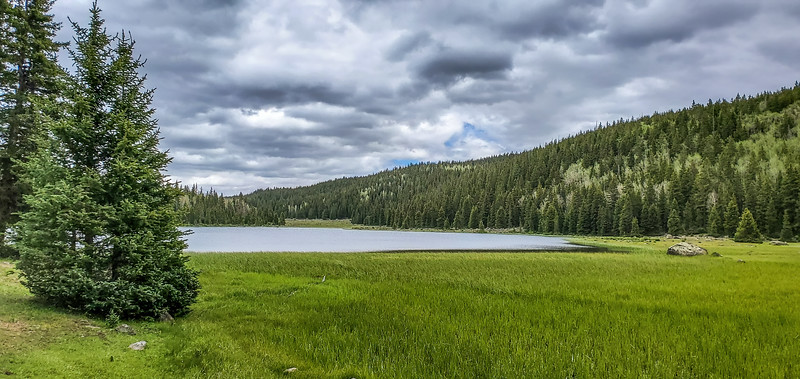 Purple Lake, Dixie National forest, Aquarious Plateau, Garfield County, Utah USA