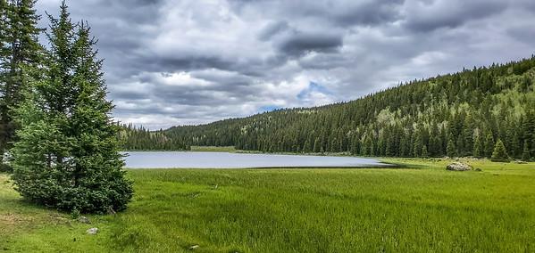 Purple Lake, Dixie National forest, Aquarious Plateau, Garfield County, Utah USA