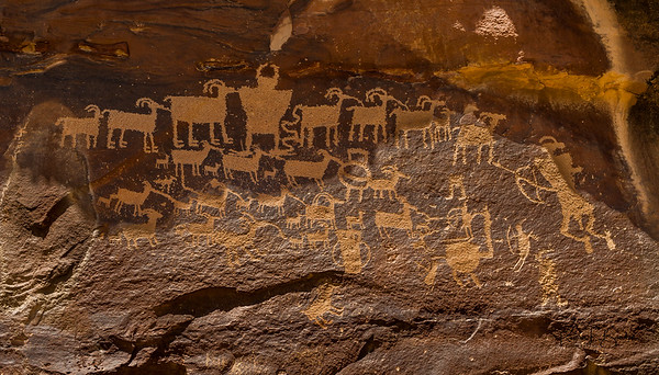 Through the Eyes of the Ancients - Petroglyphs of 9-mile Canyon
