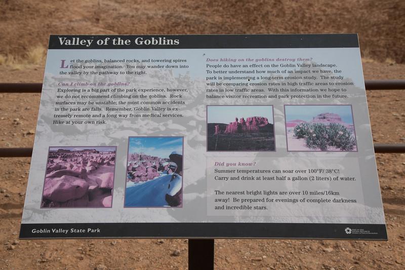 Goblin Valley, Utah state park
