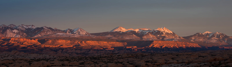 Arches NP and LaSal Mts