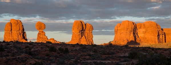 Arches NP Sunset