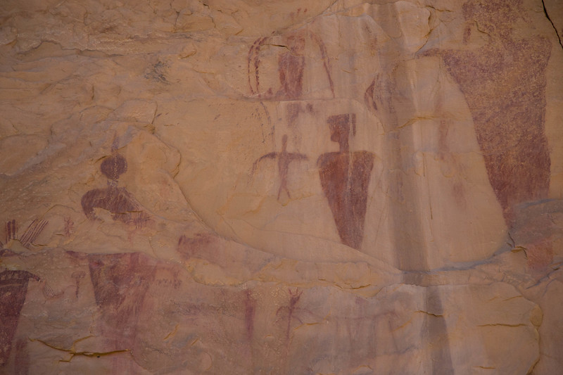 Sego Canyon Barrier Pictograph/Petroglyph Site Utah