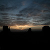 Sunrise following a stormy night