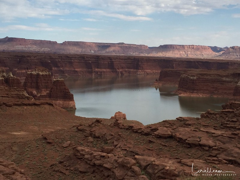 The northern end of Lake Powell