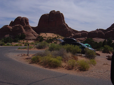 Arches camp ground