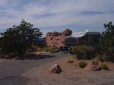 Arches Camp ground