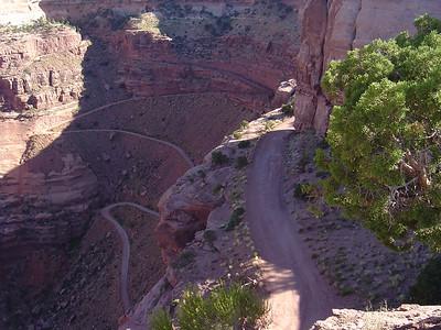 White Rim Trail road