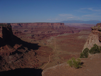 White Rim Trail road