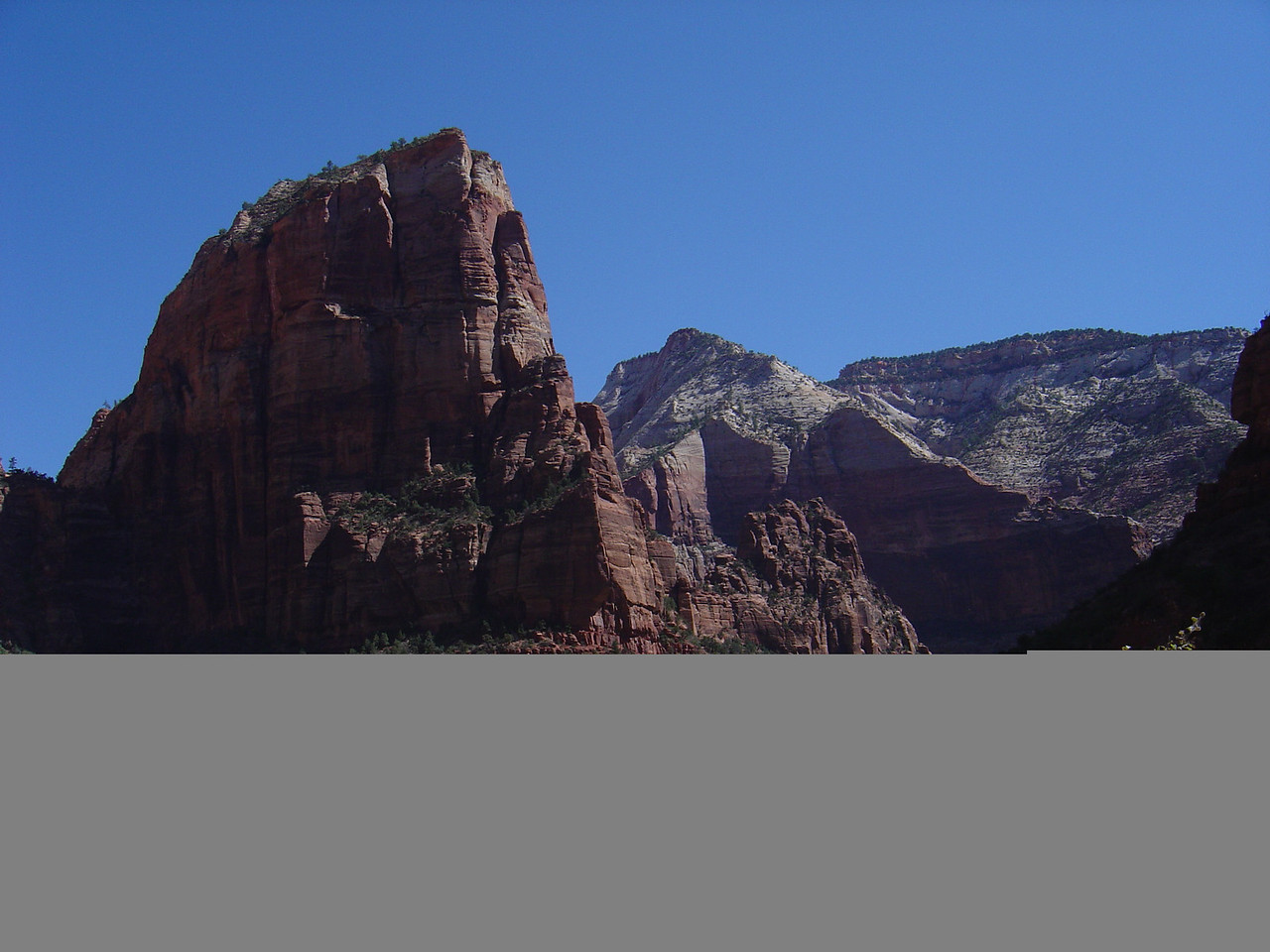 angels landing from the ground