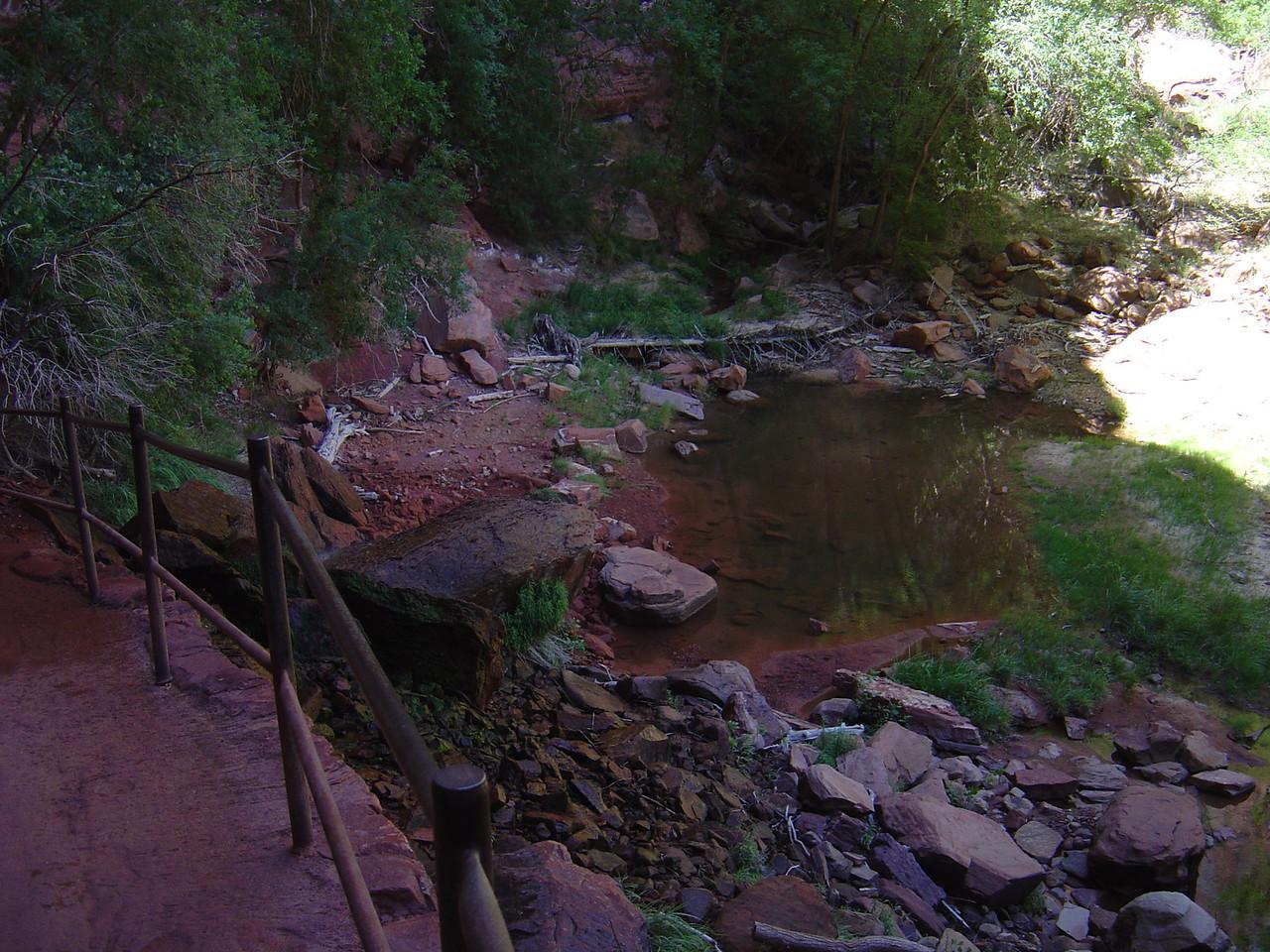 lower emeral pool