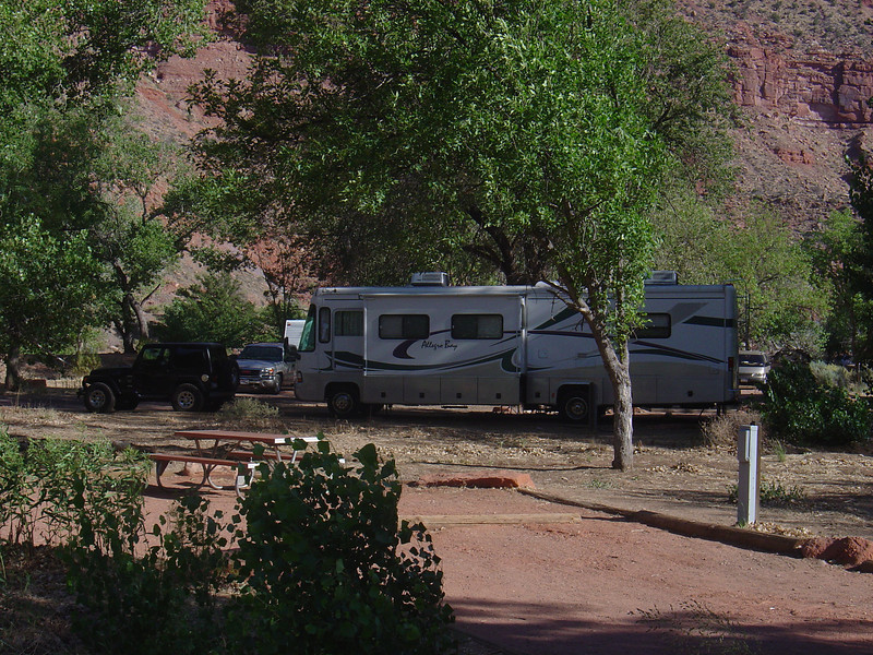 Other campers in the campground.