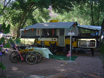 Watchman camp ground