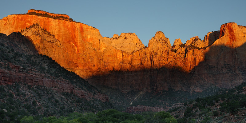 Zion National Park sunrise