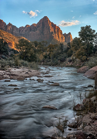 """The Watchman"" sunset at Zion National Park"
