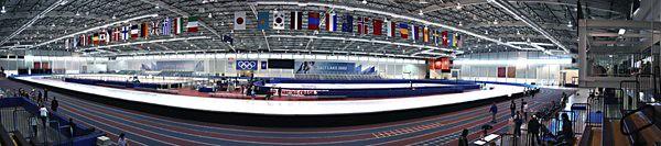 Utah Olympic Oval Panoramic