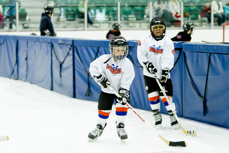 Oval Dawgs Youth Hockey Players
