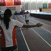 Runners on Utah Olympic Oval Running Track