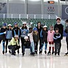 Learn to Speed Skate Students