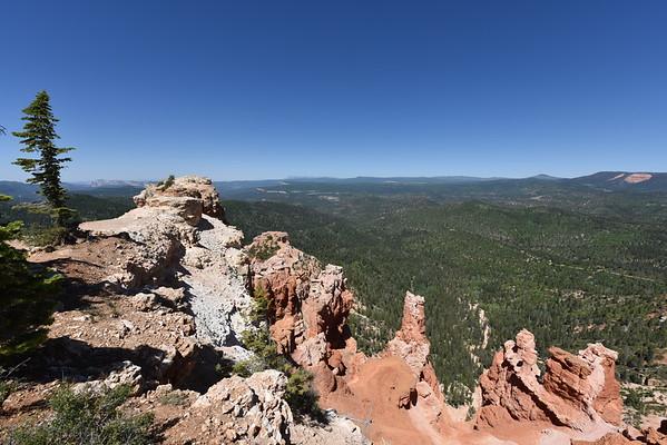 Utah Highway 14 and Cedar Breaks National Monument