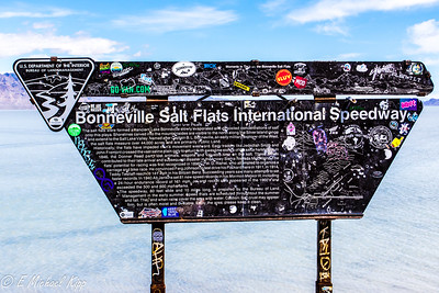 Bonneville Salt Flat, Great Salt Lake, Utah
