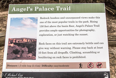 Angel's Palace Trail, Kodachrome Basin State Park
