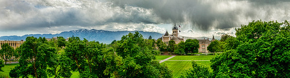 USU quad pano  from roof top