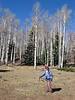 Vicky and the aspens