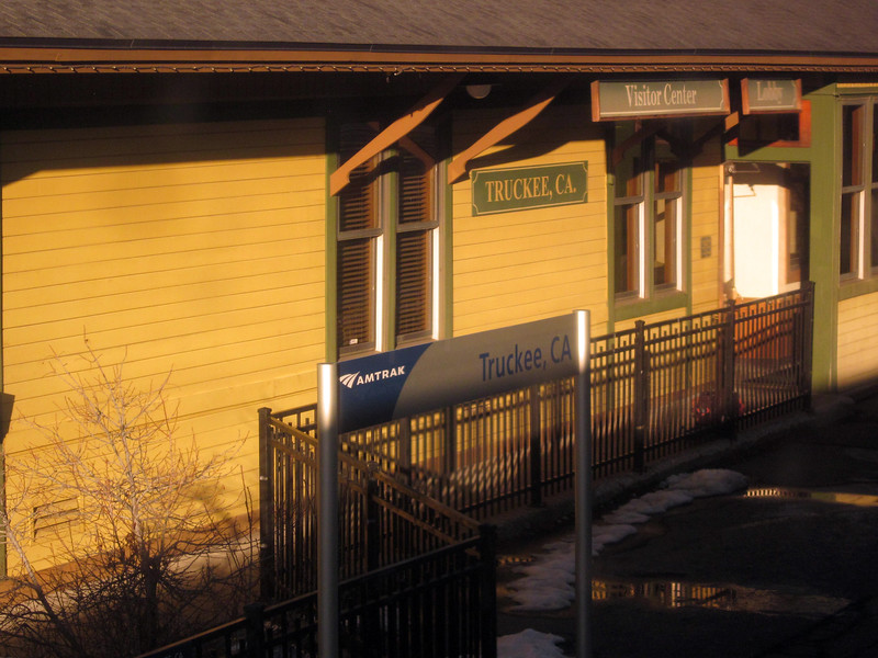 Truckee train station