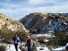 New year's Day hike, to Pine Creek near Escalante