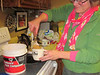 New years Eve dessert-Liz Poulter serves