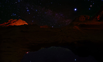 Milky Way at White Pocket