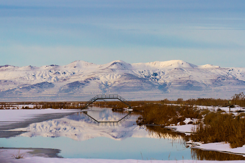 Farmington Bay at dawn